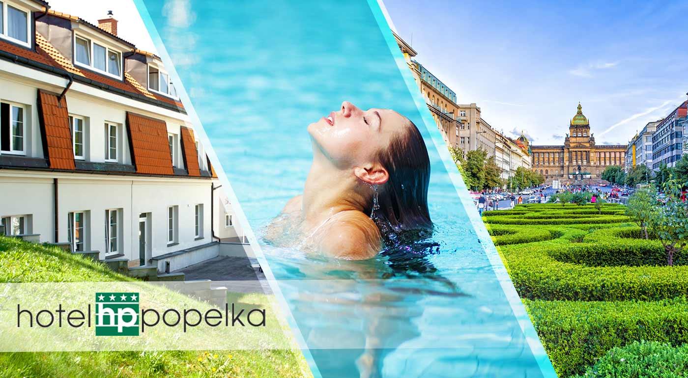 Výnimočný 3-dňový pobyt v Hoteli Popelka**** blízko centra Prahy so vstupom do aquaparku
