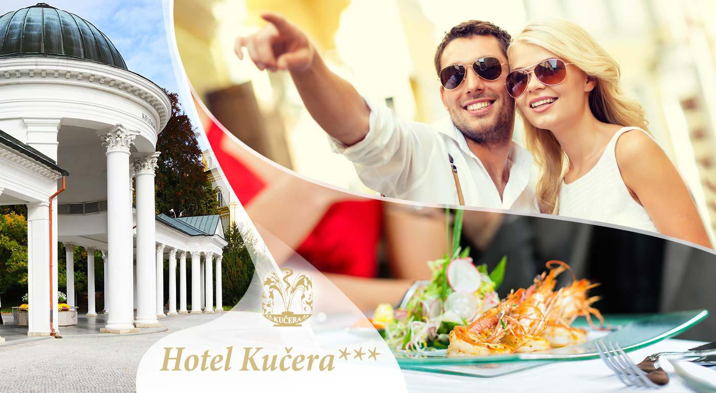 Exkluzívny relax pre dvojicu v Karlových Varoch v Hoteli Kučera*** priamo v srdci kúpeľnej zóny
