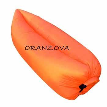 Nafukovací vak - farba oranžová