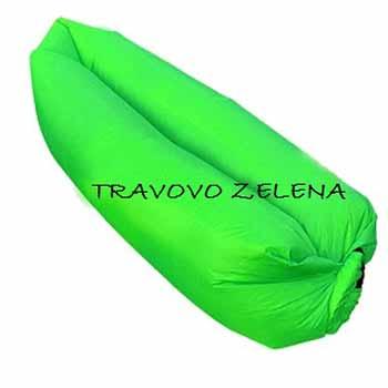 Nafukovací vak - farba zelená