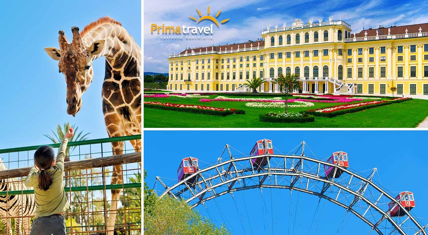 Navštívte pompéznú Viedeň, prezrite si tamojšiu ZOO a honosný zámok Schönbrunn