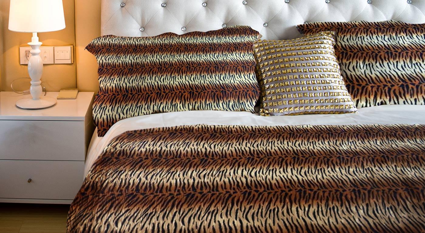 Módne obliečky vyrobené zo 100% bavlny - balenie pre dvojlôžko