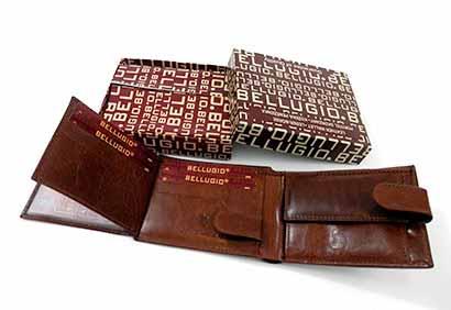 Pánska kožená peňaženka - hnedá farba