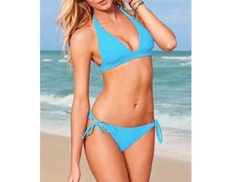 Dámske plavky Simply univerzálna veľkosť - farba modrá
