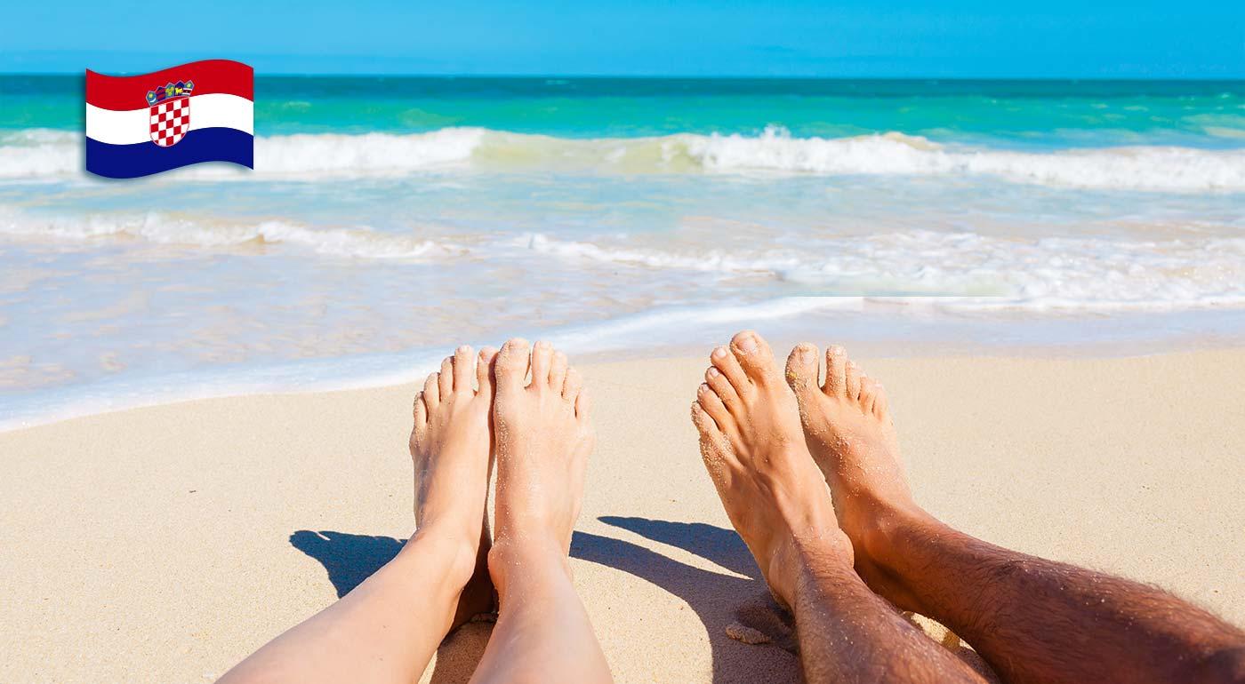 Dovolenka na slnkom zaliatych plážach na ostrove Pag v Penzióne Trebam Odmor