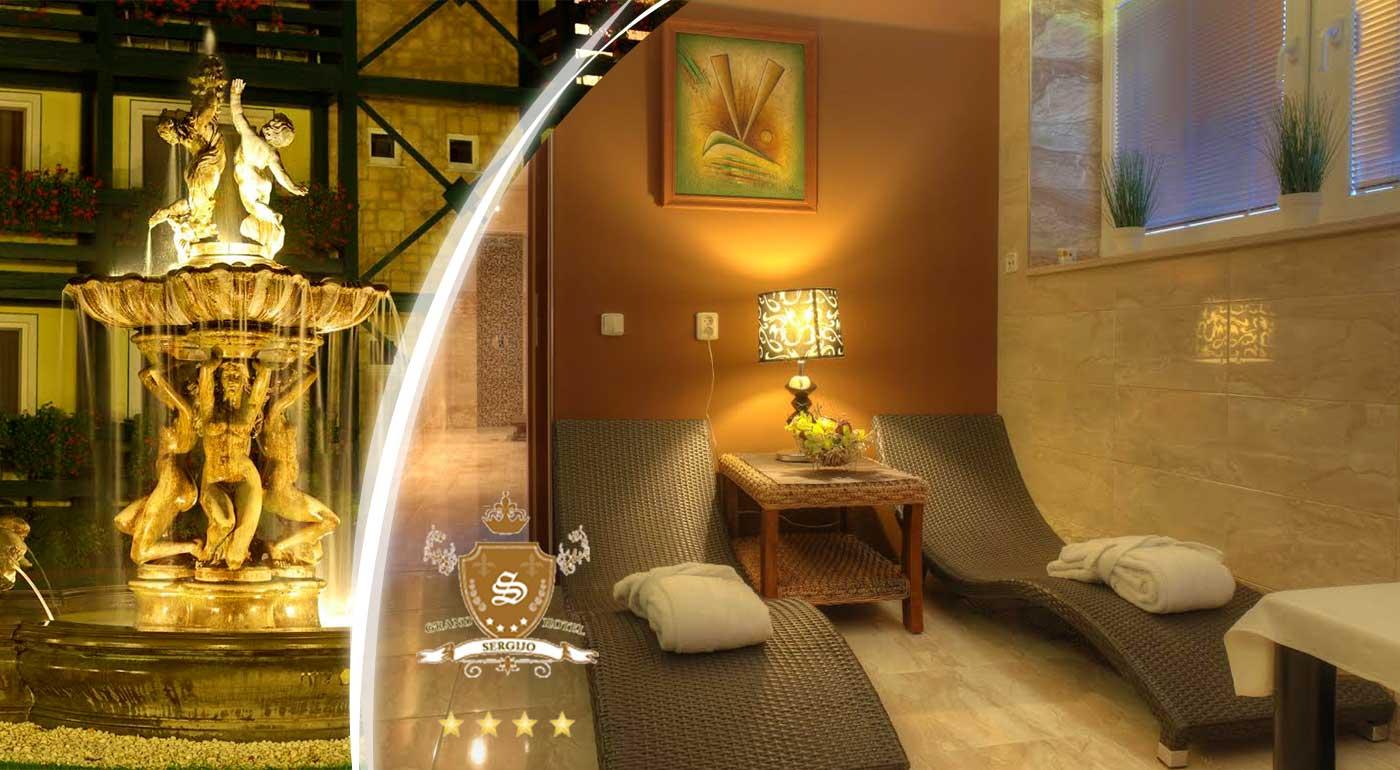 Prežite noc plnú romantiky a luxusu v elegantnom hoteli Sergijo**** v Piešťanoch