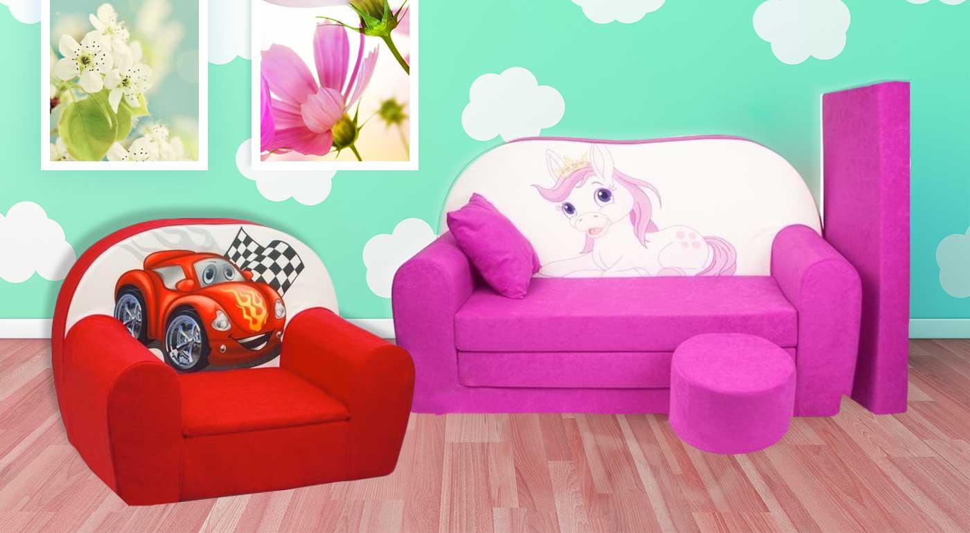 Vlastné detské kreslo pre vaše deti - úžasný doplnok do detskej izby