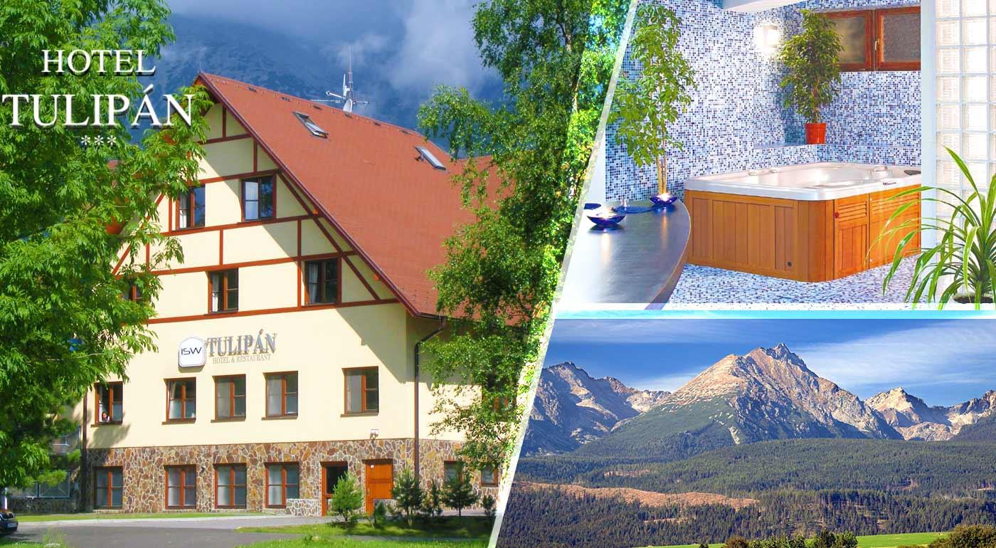Rodinný pobyt v jesennej Tatranskej prírode v Hoteli Tulipán*** s polpenziou, wellness a ďalšími dvoma osobami do 18 rokov zdarma