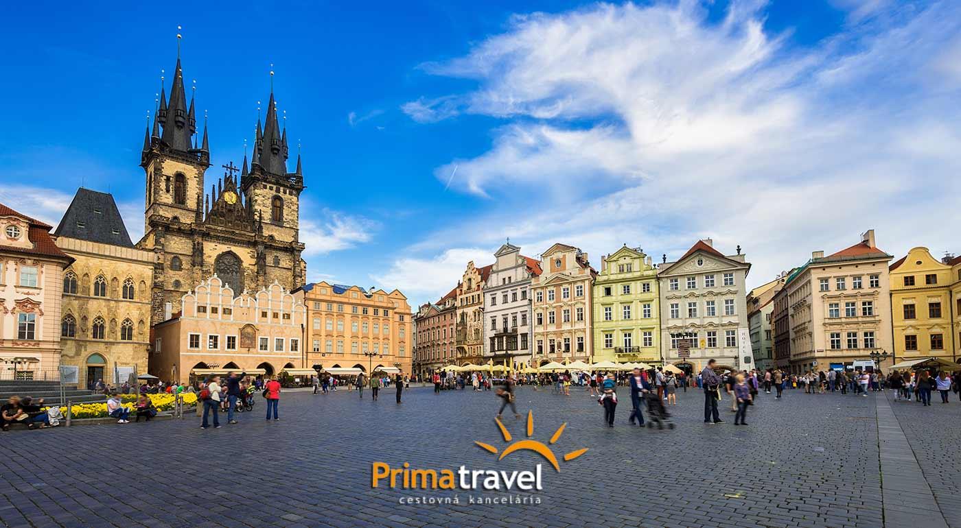 Nádherný 2-dňový zájazd do stovežatej Prahy