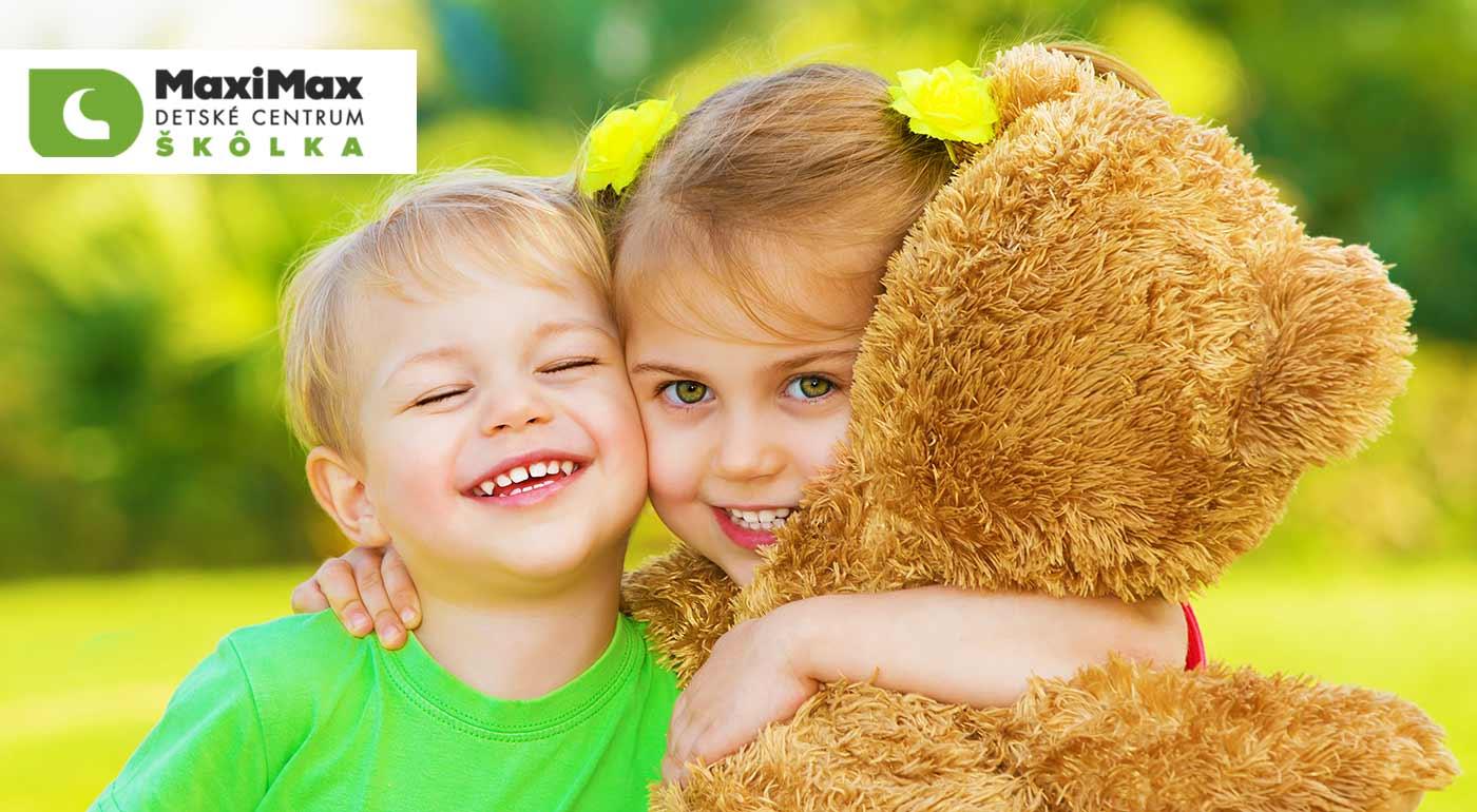 Prázdniny plné zážitkov, hier, športu, tvorivosti a nových kamarátov v dennom tábore v centre MaxiMax