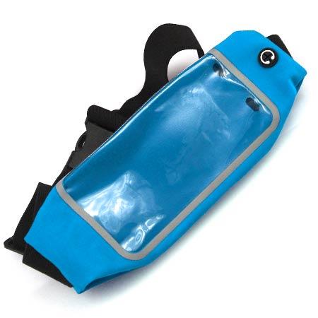 Športové puzdro na mobil a drobnosti - farba modrá