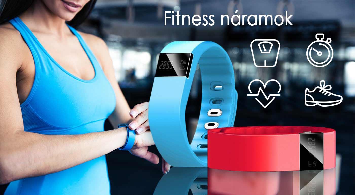 Praktický fitness náramok, ktorý meria vaše športové aktivity