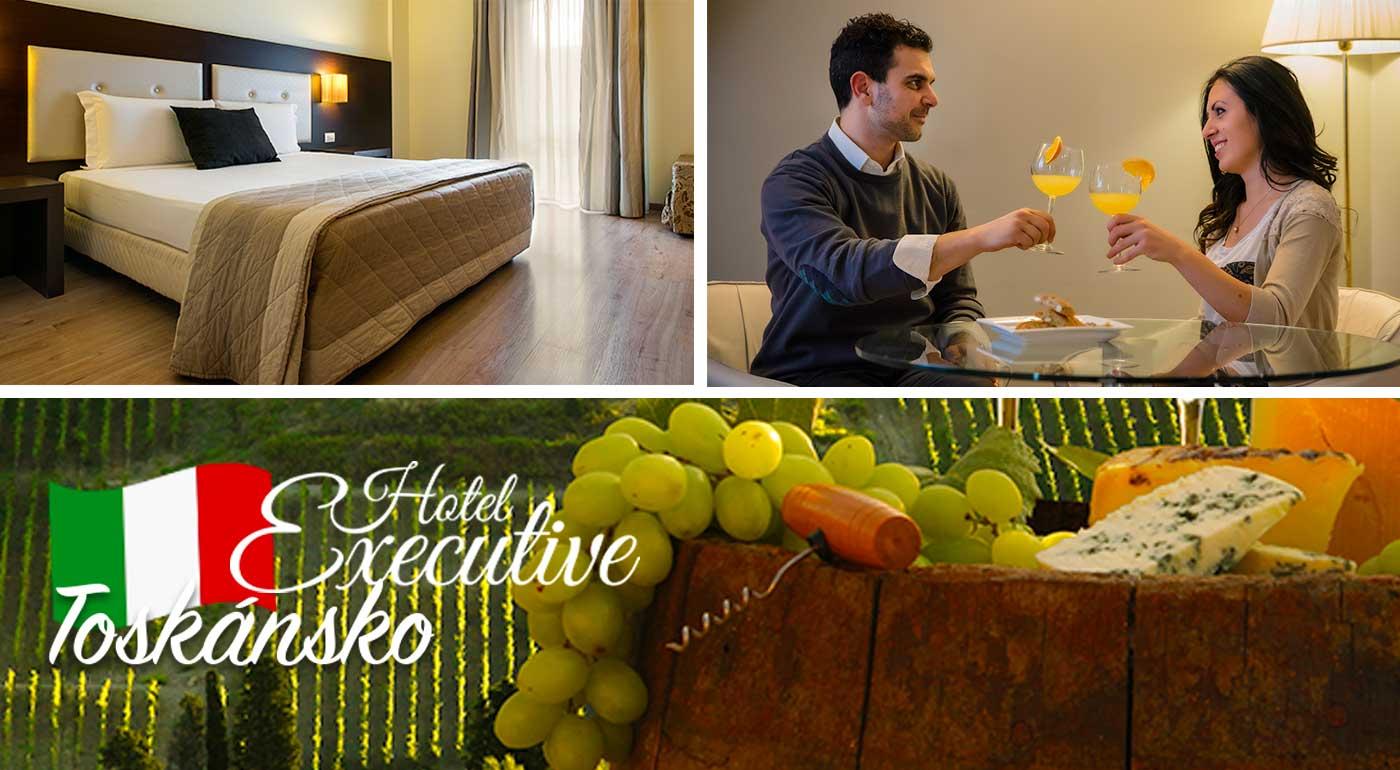 Objavte krajinu ako z pohľadnice - navštívte Toskánsko na 3 alebo 5 nocí v luxusnom hoteli s polpenziou v meste Siena