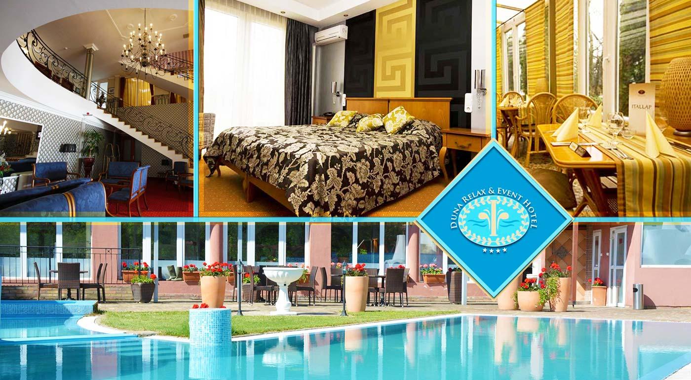 Doprajte si luxus v izbách Duna Relax & Event Hotela**** so starorímskym wellness