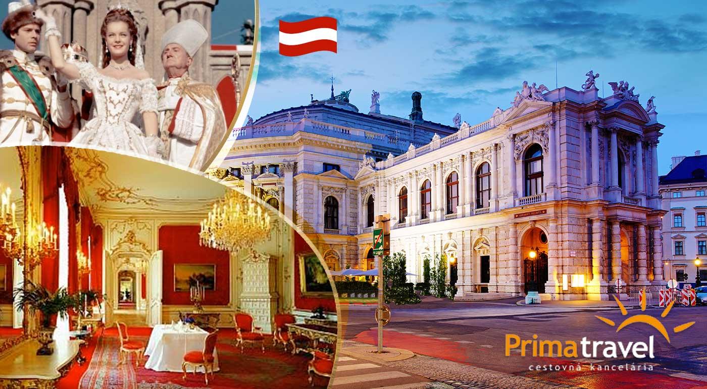 Jednodňový zájazd do Viedne po stopách cisárovnej Sissi pre 1 osobu