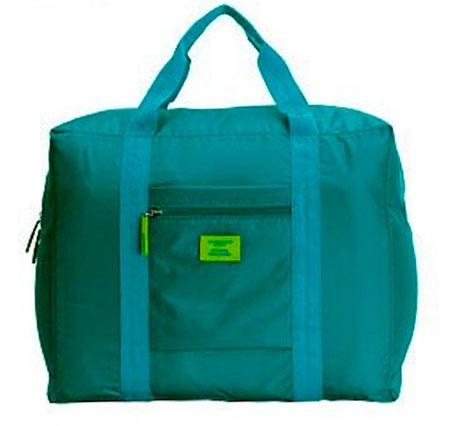 Veľká skladacia cestovná taška Simone - farba zelená