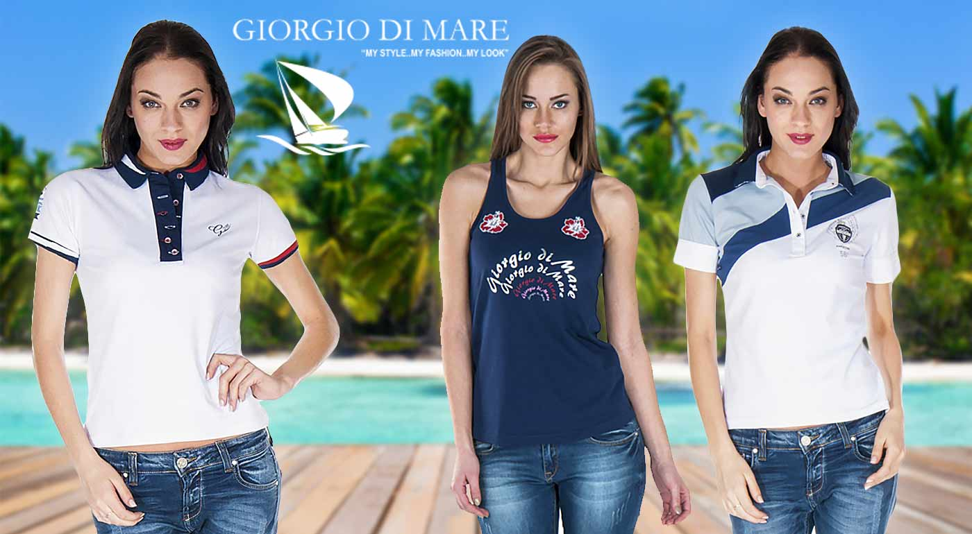 Pohodlné dámske tielká a topy španielskej značky Giorgio Di Mare