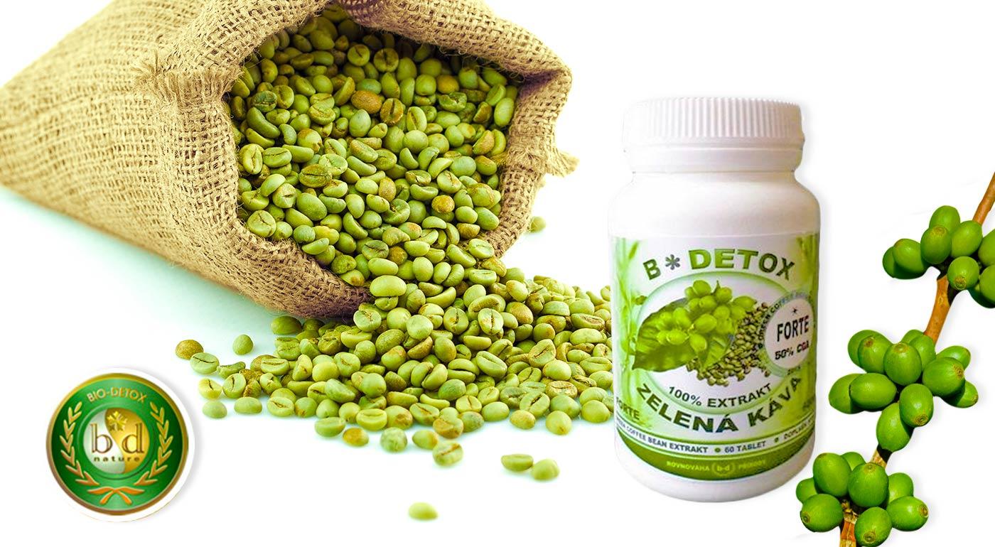 Denná dávka antioxidantov v podobe zelenej kávy v tabletkách