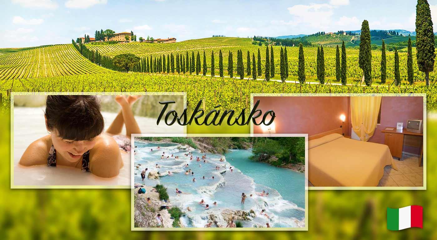Nádherný pobyt v Toskánsku - objavujte poéziu najkrajšej časti Talianska