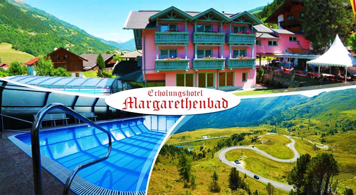 Úžasný pobyt v luxusnom kúpeľnom Erholungshotel Margarethenbad **** v rakúskych Alpách s neobmedzeným wellness
