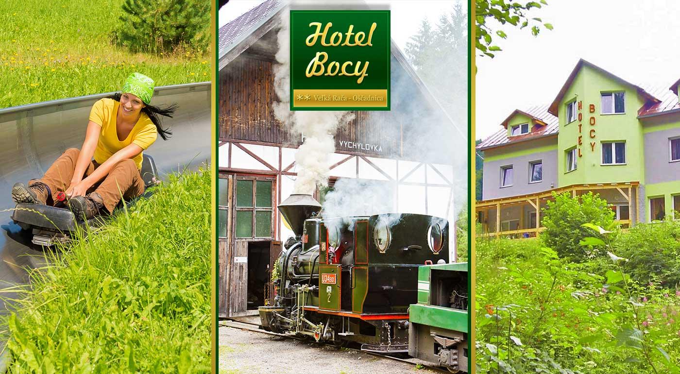 Parádne 3 alebo 4 dni na Kysuciach v Hoteli Bocy - presvedčte sa, že stredisko Veľká Rača - Osčadnica má čo ponúknuť aj v lete