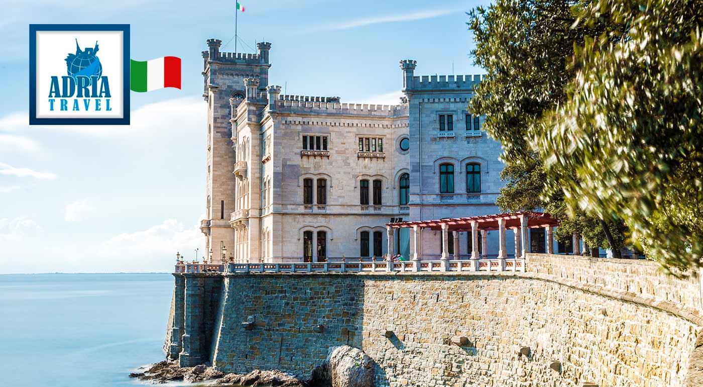 Zatúlajte sa do úchvatných Benátok a navštívte zámok Miramare a slovinské jazero Bled v rámci 3-dňového zájazdu