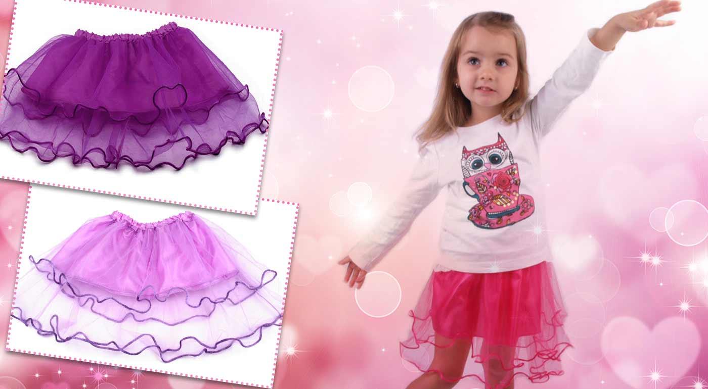 Roztomilé dievčenské tylové sukničky