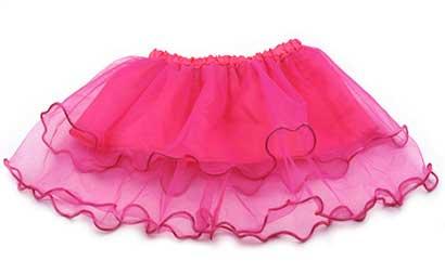 Dievčenská suknička - farba tmavoružová