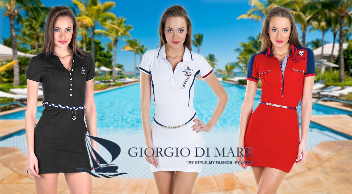 Určujte trendy v nových letných šatách od Giorgio Di Mare