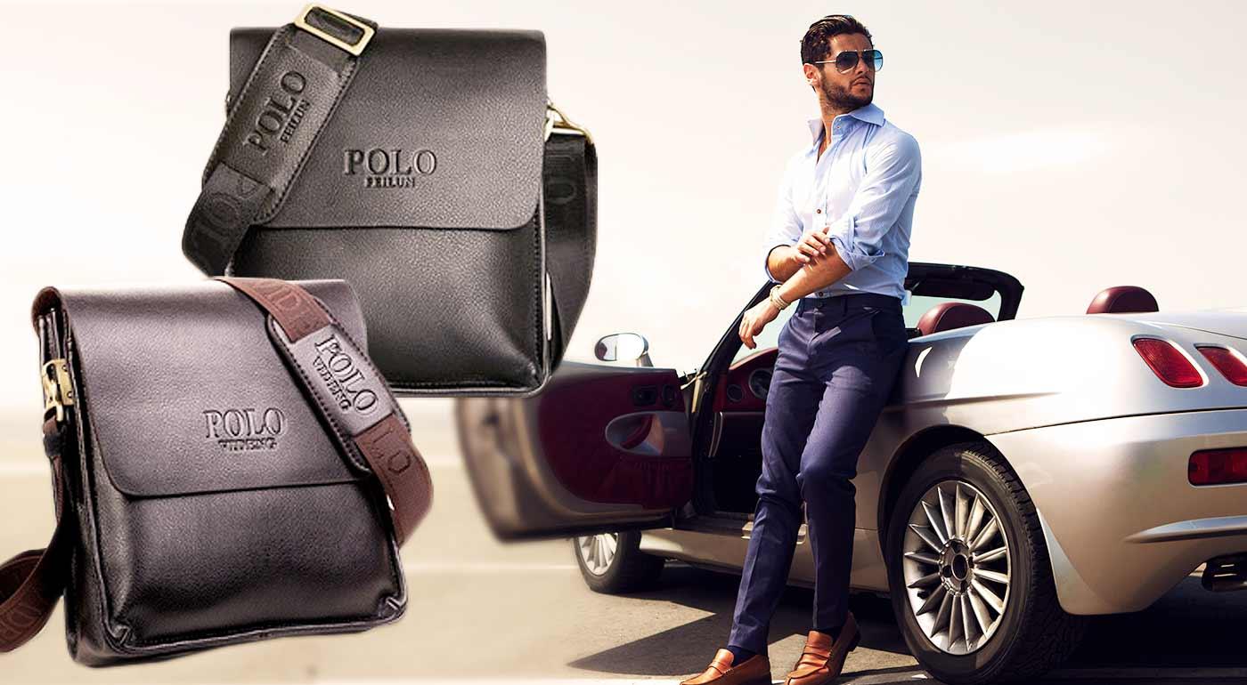 Kvalitne opracované pánske tašky POLO, Bandicoot a Korsgroo z pravej kože