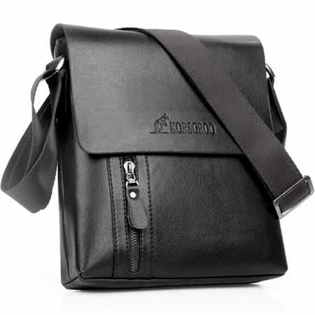 Pánska taška KORSGROO - farba čierna