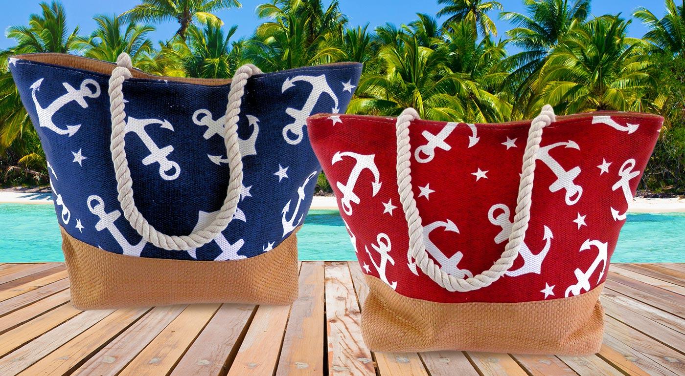 Dámske tašky s kotvičkami v námorníckom štýle - vyberte si zo 7 modelov