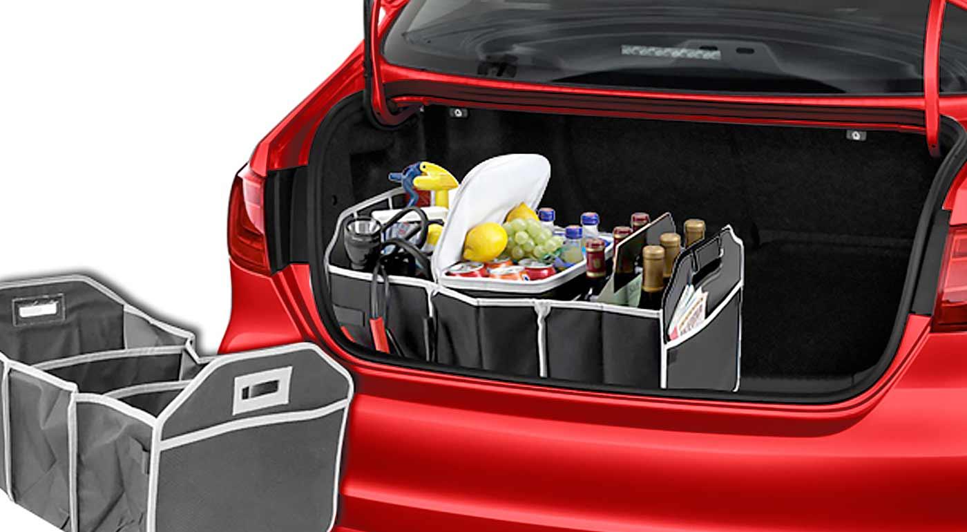 Všetky vaše nákupy budú v kufri bezpečí s organizérom s termotaškou