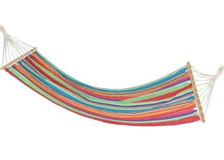 Hojdacia sieť Slowday pre 1 osobu - farba pestrofarebná