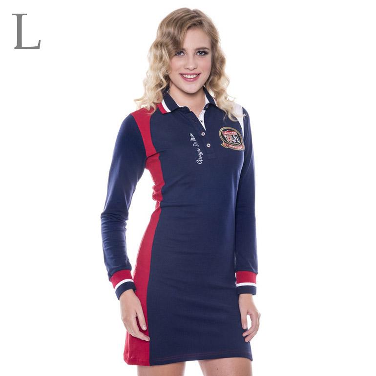 Dámske šaty s dlhým rukávom: model 5 veľkosť L