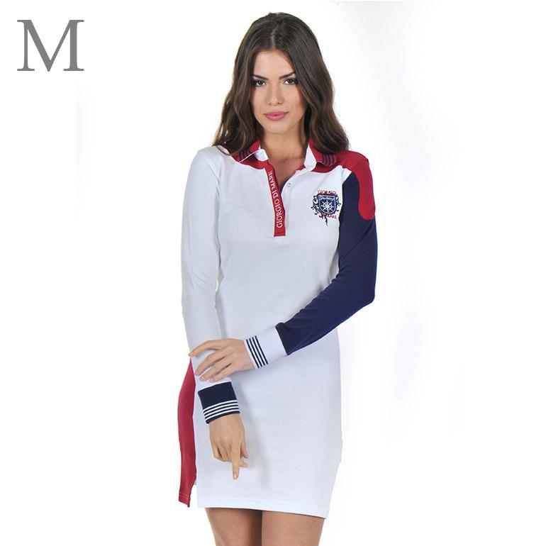 Dámske šaty s dlhým rukávom: model 6 veľkosť M