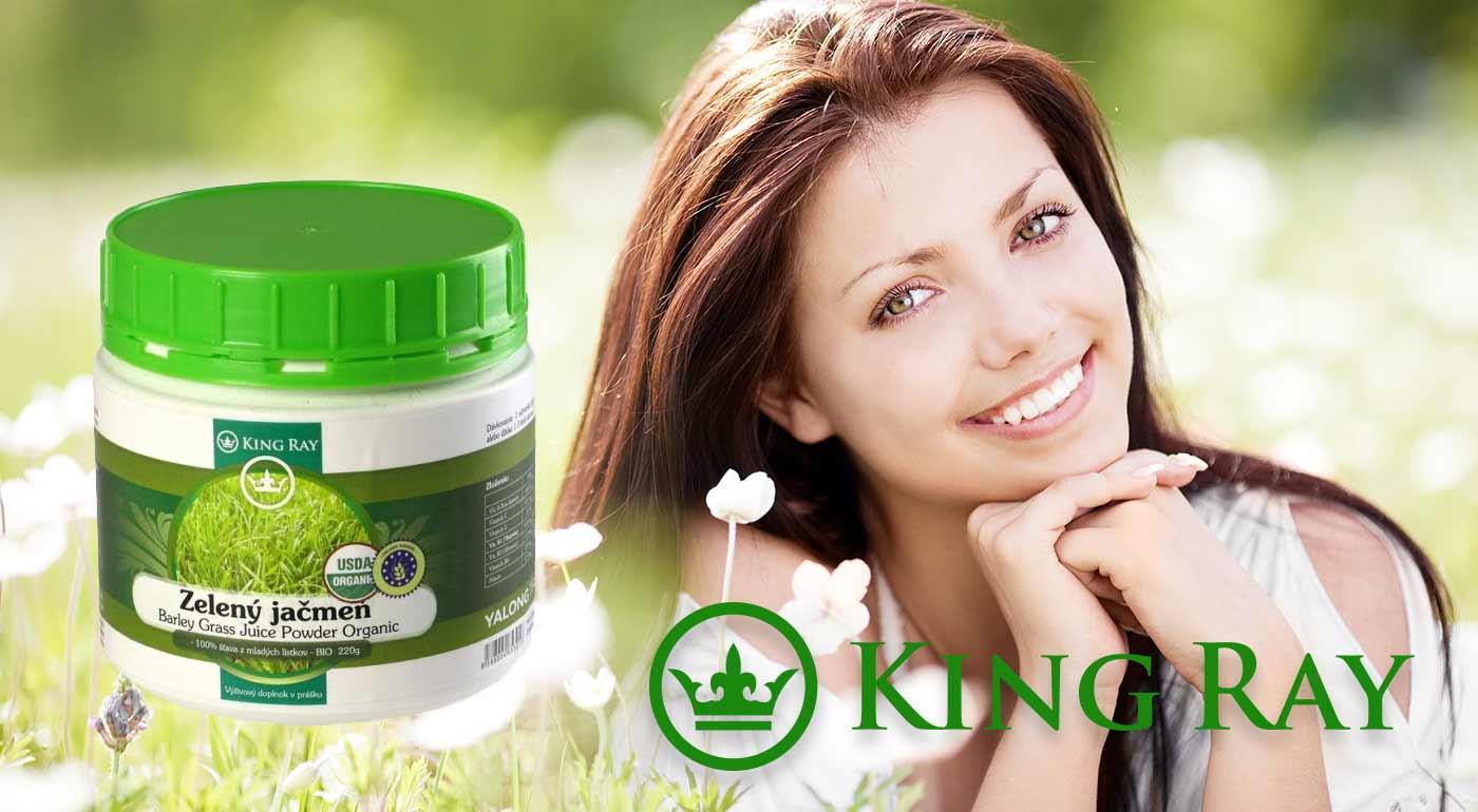Štrngnite si s pohárom zeleného zdravia - zelený jačmeň