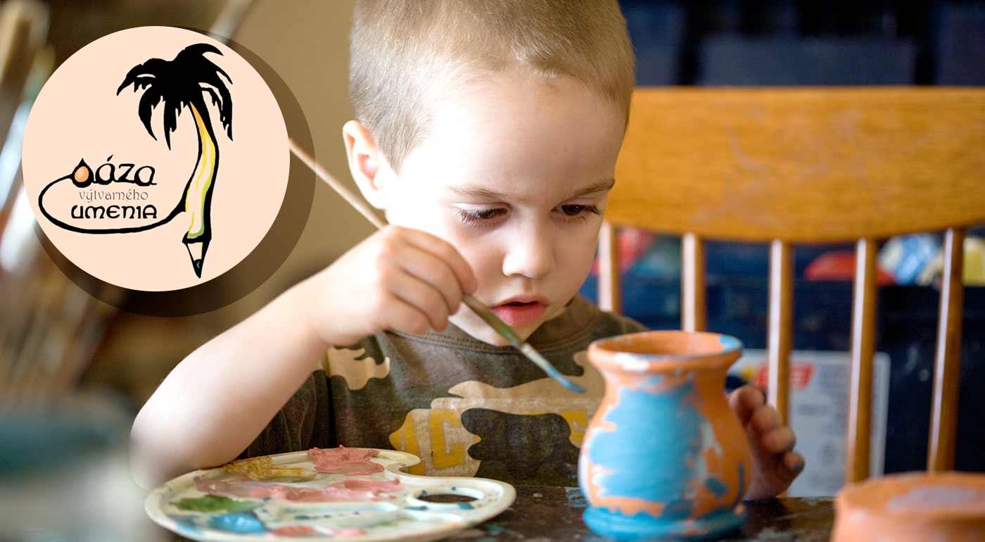 Denný tábor Farby leta v Bratislave pre všetky šikovné a kreatívne deti