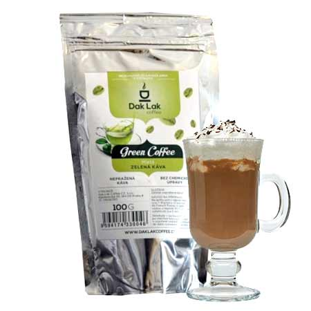 BIO zelená káva (100g) - príchuť cappucino