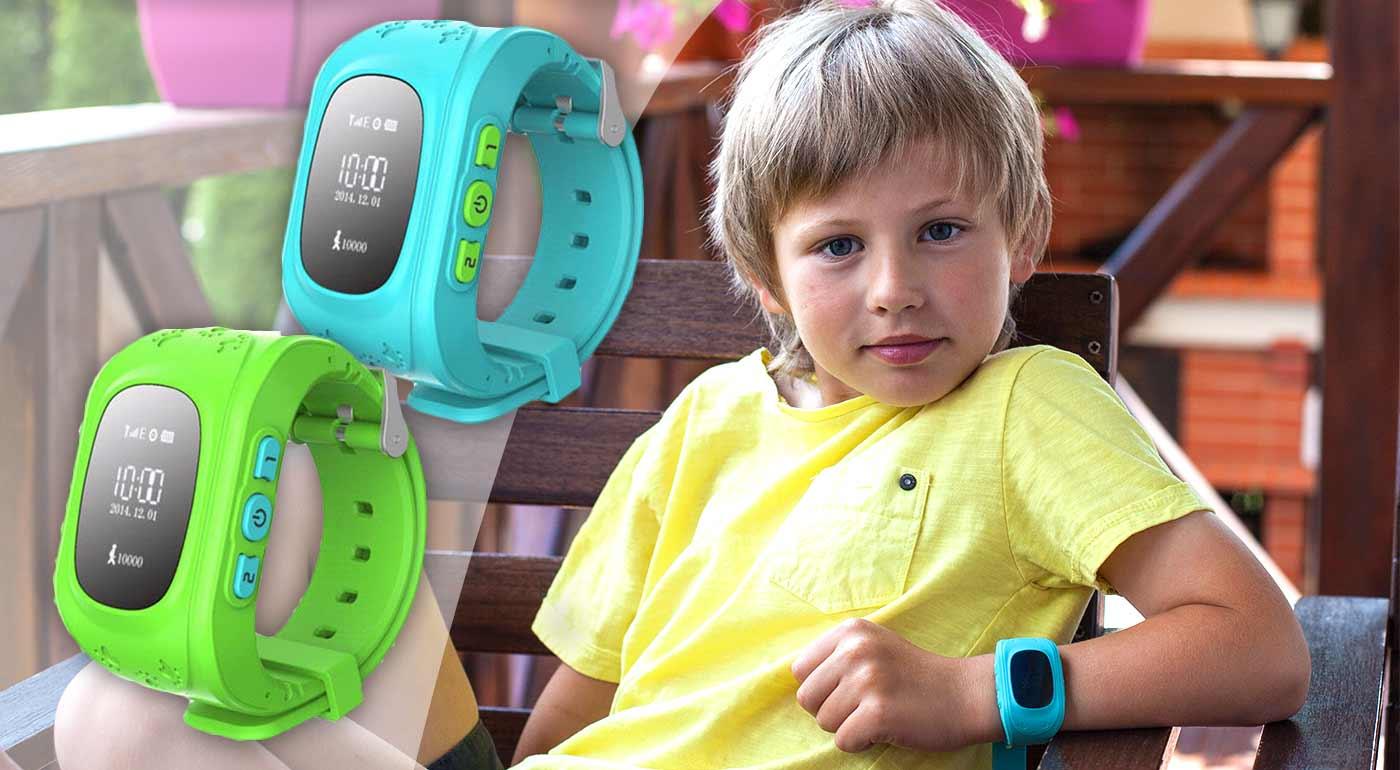 Praktické detské hodinky, ktoré vám ukážu presnú polohu vašich ratolestí
