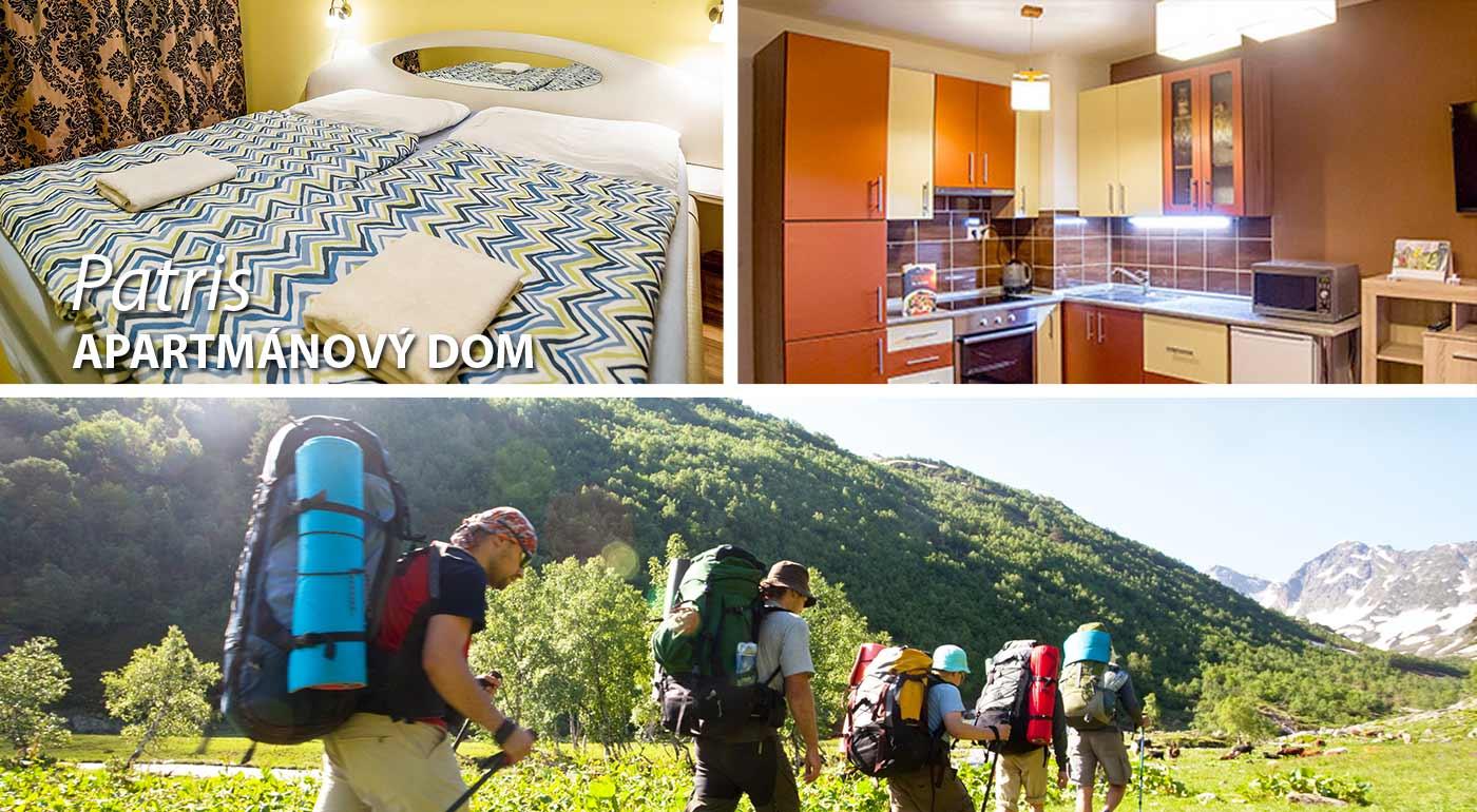 Užite si krásne chvíle na dovolenke v našich horách, čaká vás moderne Apartmánový dom Patris v Tatranskej Štrbe