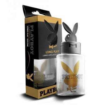 Lubrikačný gél Playboy Long Play Silicone Based (88,7 ml)