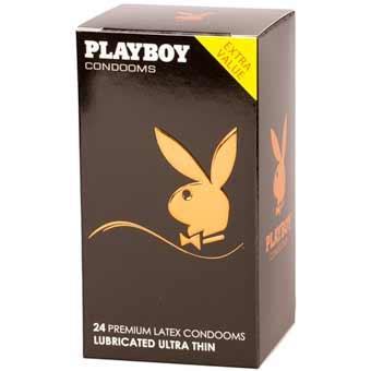 Balenie 24 ks kondómov Playboy Ultra Thin