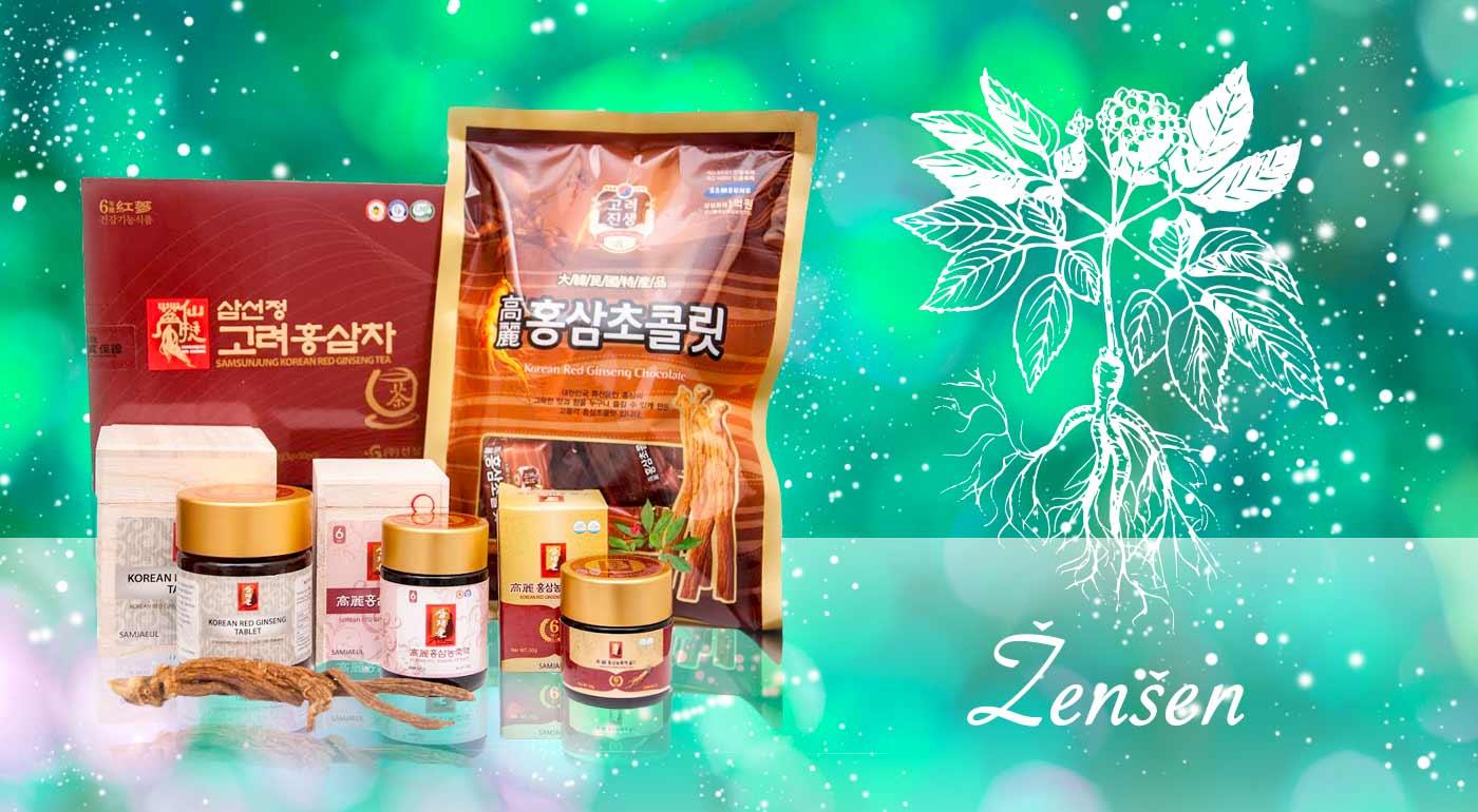 Doprajte vášmu telu zdravé prípravky zo ženšenu - vyberte si pastilky, kocky, zmes na prípravu nápoja či extrakt GOLD