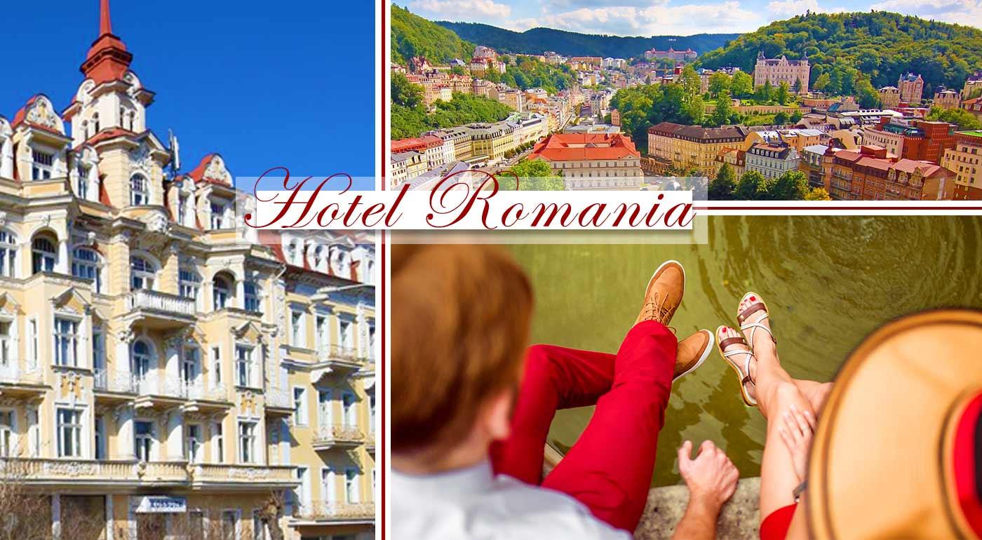 Oddychové dni plné špičkových procedúr v Hoteli Romania*** v Mariánskych Lázňach