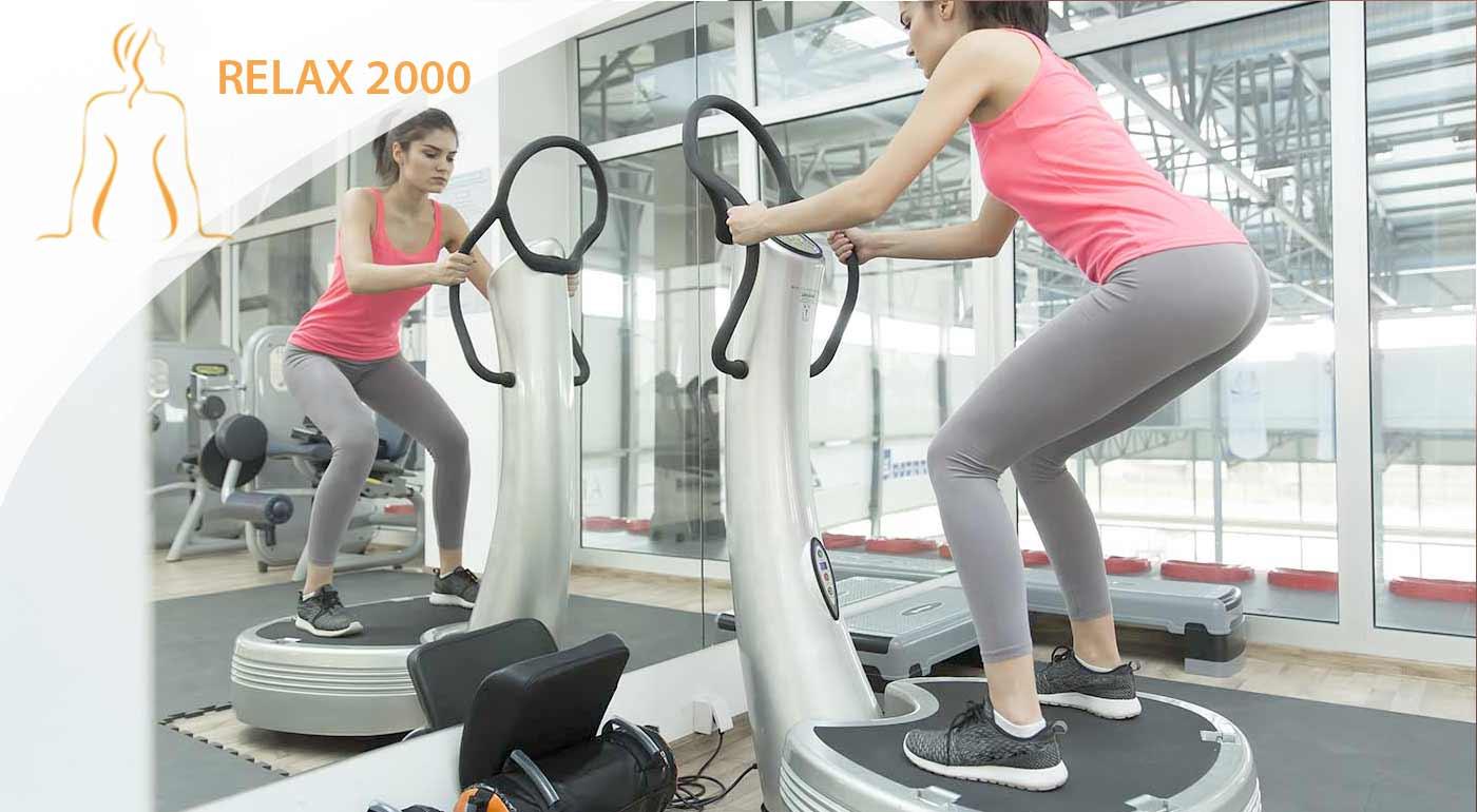 Cvičenie len pre ženy na strojoch Slender Life a vibračnej platni Vibrofit