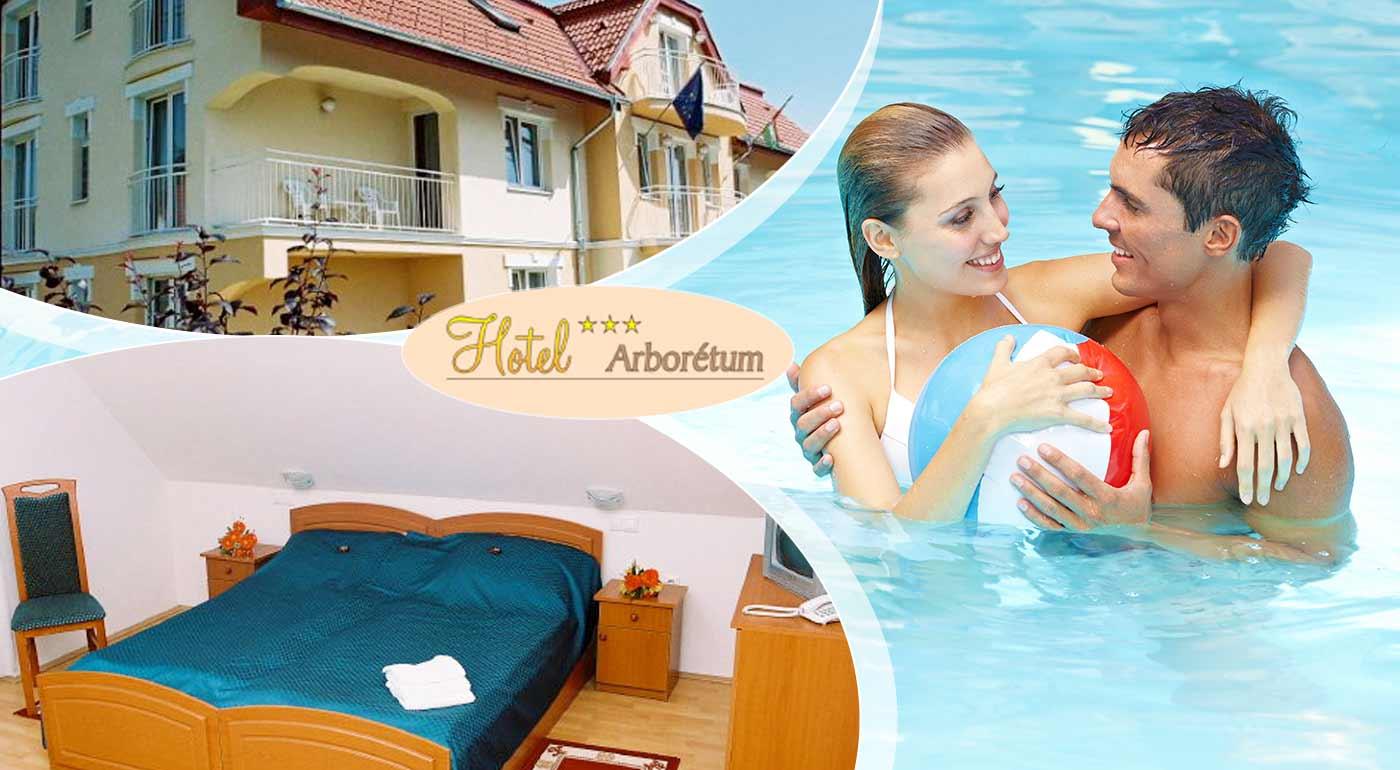 Relaxujte v Hoteli Arborétum*** v maďarskom kúpeľnom meste Sárvár