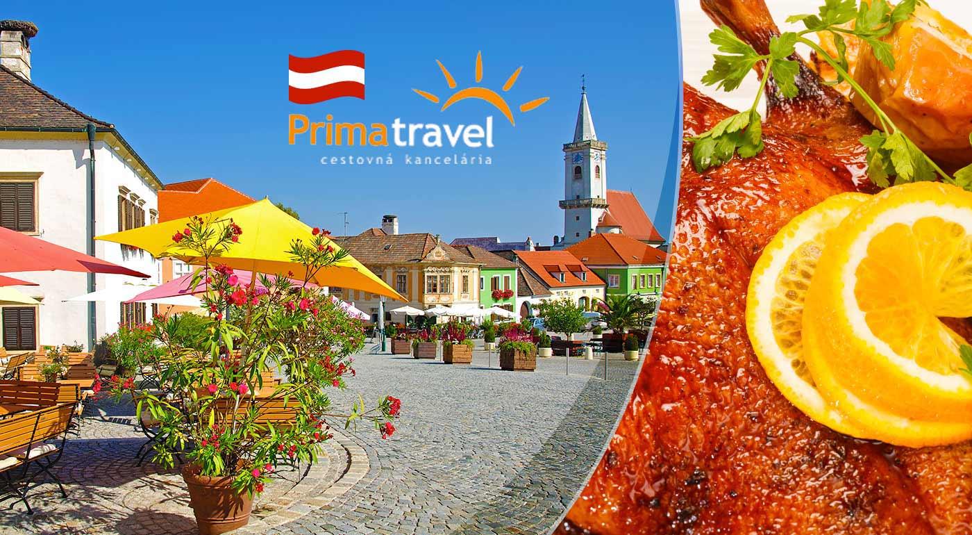 Husacie hody, železné mesto a vínny festival v rámci jednodňového zájazdu do Rakúska