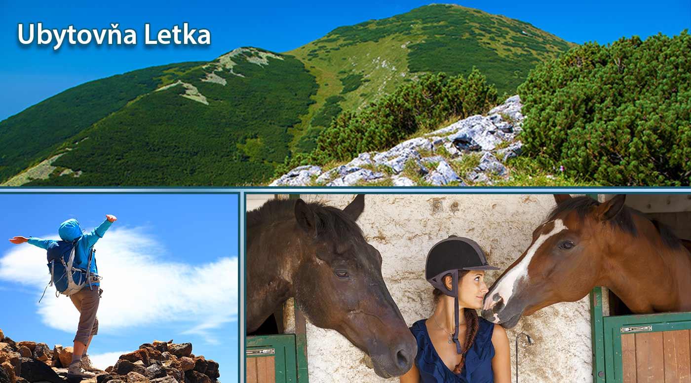 Pobyt pre všetkých vášnivých turistov len na skok od Malej a Veľkej Fatry v Ubytovni Letka