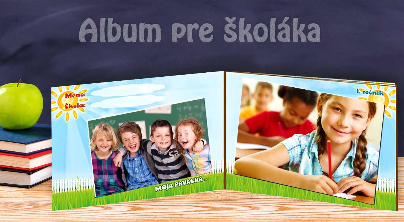 Do školy s nádherne ilustrovaným fotoalbumom pre školáka